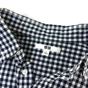 Men's Gingham Button Down Shirt
